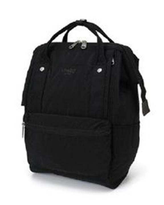 ANELLO Backpack Mouthpiece Cotton Nylon - Black (BK)