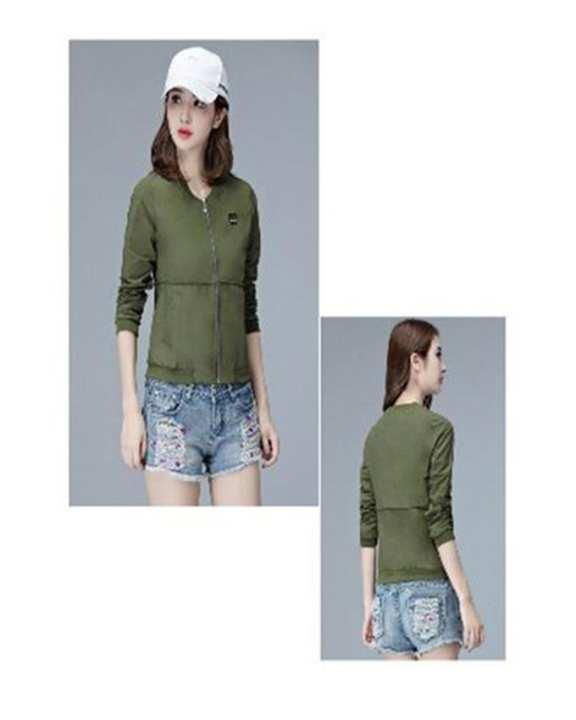 PG Women's Long Sleeve T-shirt - Green