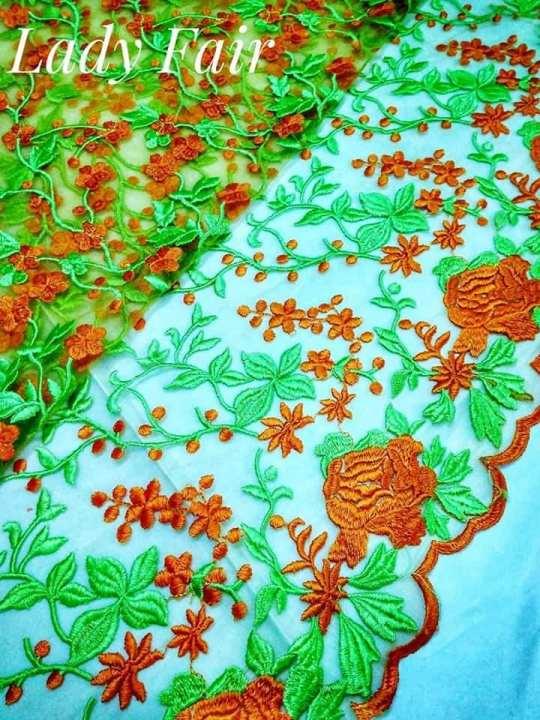 Thai silk + Lace