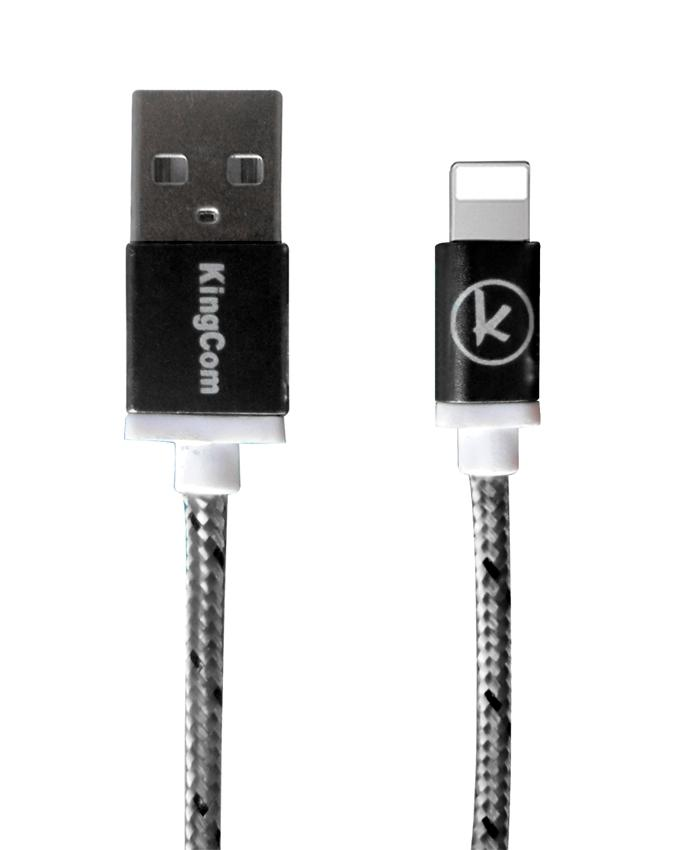 KingCom Cable for iphone 5 Kable T1_Black