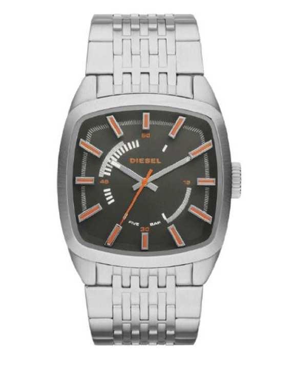Diesel DZ1588 Stainless Steel Watch – Black and Silver