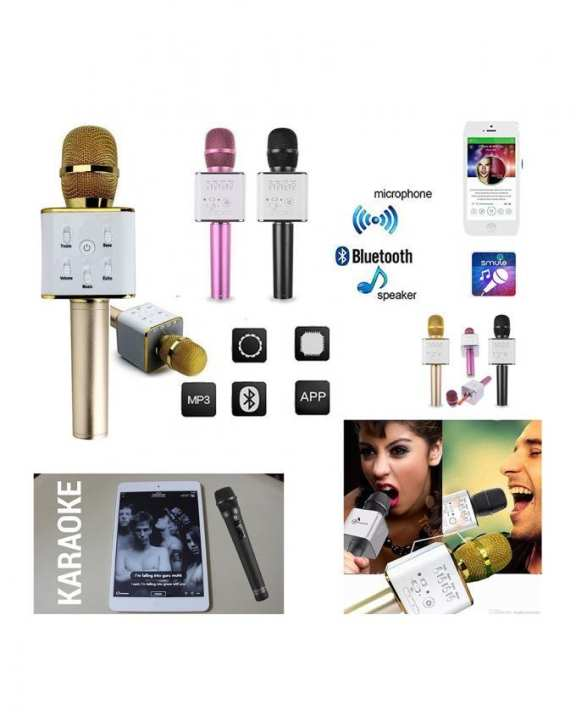 Harrier Bluetooth Karaoke Microphone ( USB )