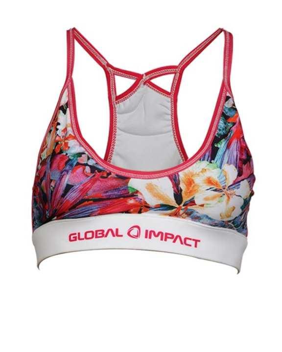 Global Impact Women's sport Bra - Multi