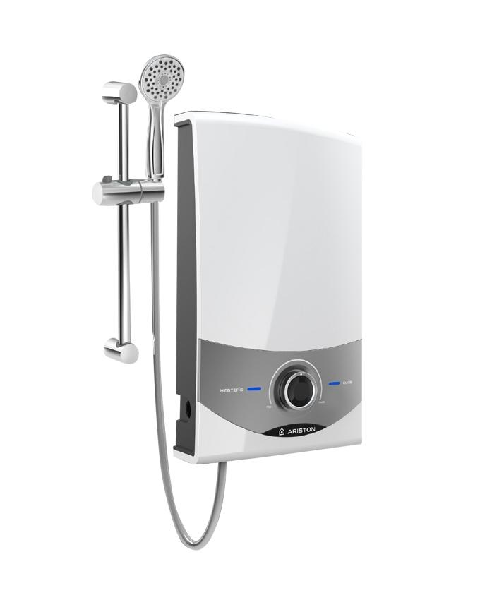 Ariston Aures Comfort Electric Instant Water Heater With Pump