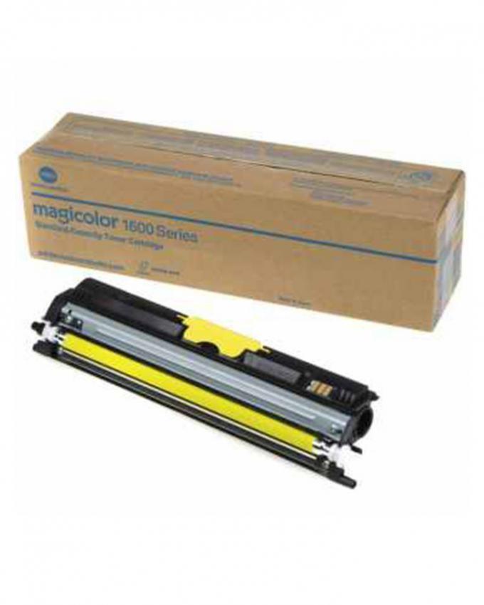Konica Minolta MC1600 Series Yellow Toner Cartridge (2.5K)