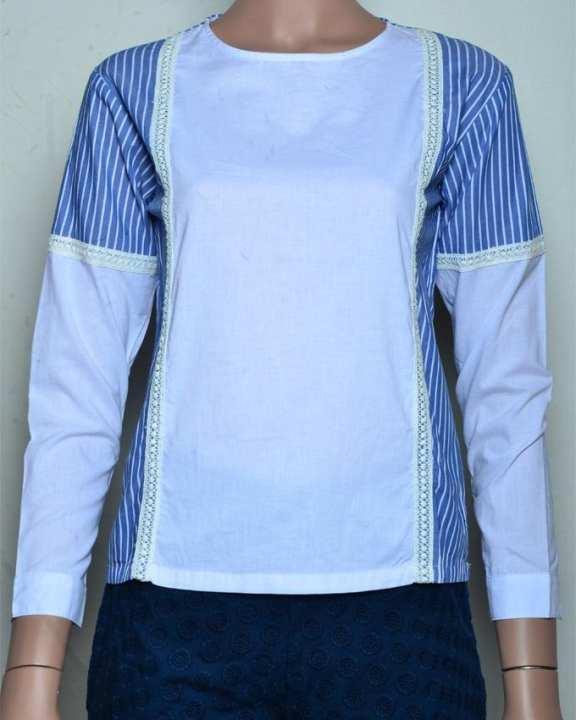 Bench Women's Wear Long Sleeve Blouse - White