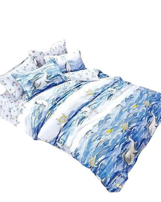 The Gift Bedding The Gift 4 Pieces Double Fitted with Quilt Cover (MS 50195)