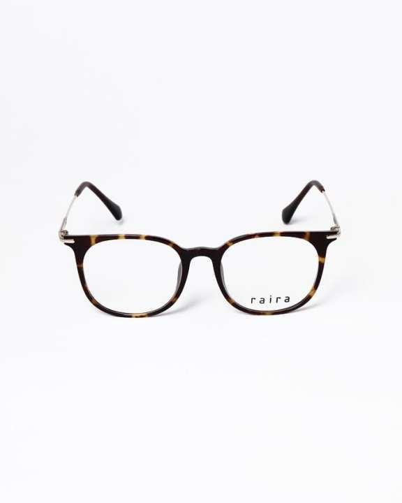 RAIRA American typewriter eyeglasses - Brown
