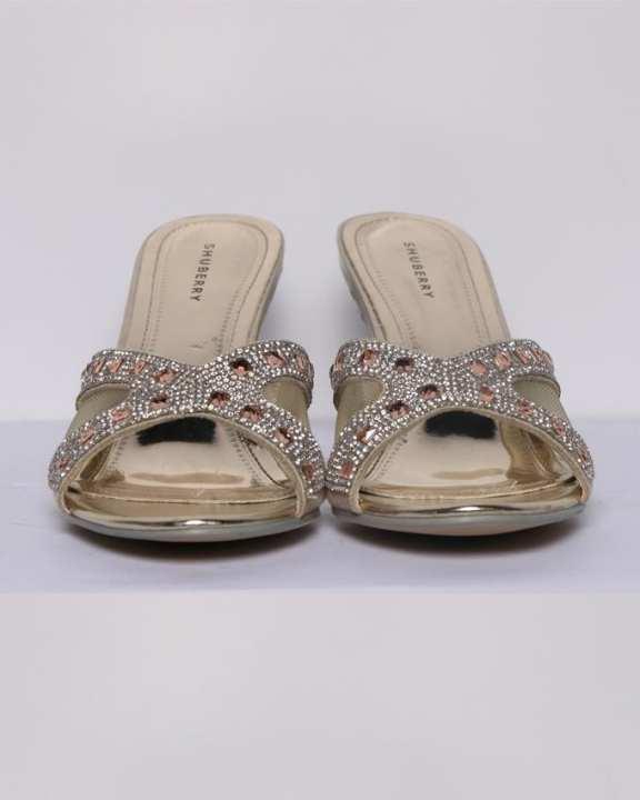 Shuberry Women's Classy Shoes - Gold