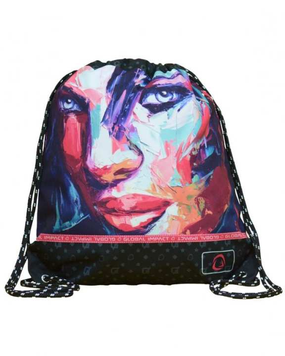 Global Impact Art-Face 5 Sports Bag