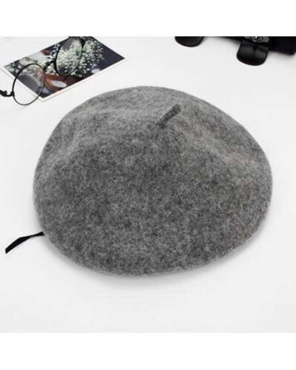 Quick & Easy Baret Hat (Grey)