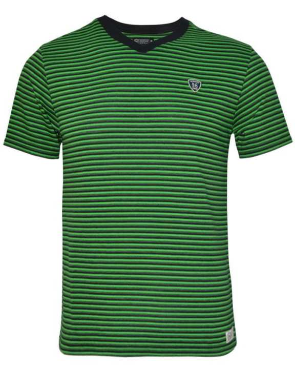 NOBODY Men's Wear Short Sleeve T-shirt - Green