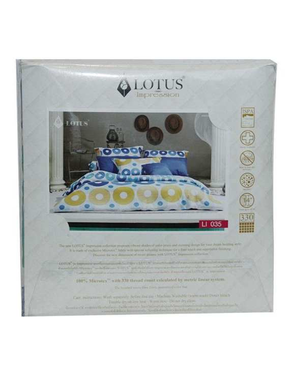 LOTUS Impression Collection Bed-Set