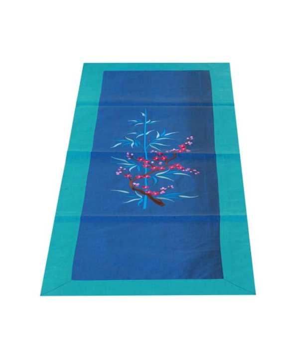 "The Cushion Factory Table Runner - Blue cherry - 16""x47"""