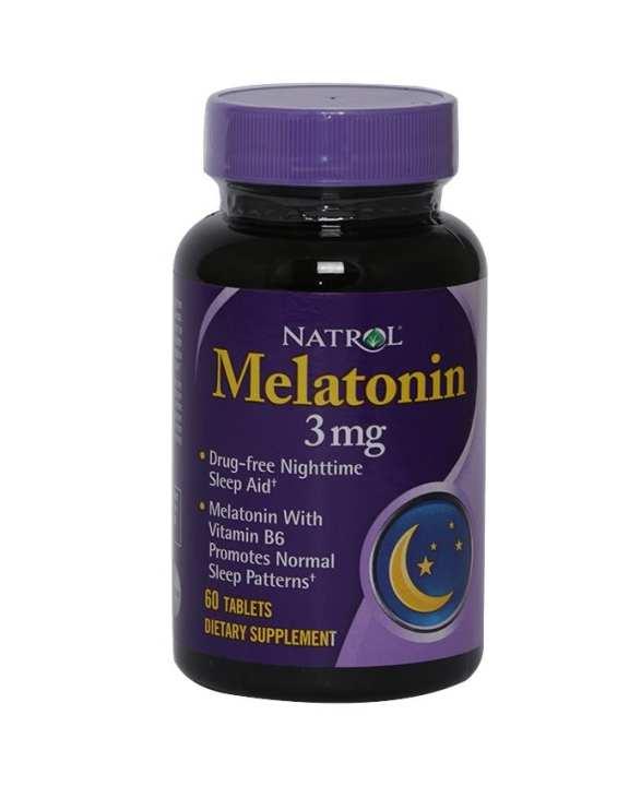 Natrol Melatonin - 3mg(60 softgels)