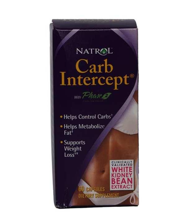 Natrol Carb Intercept - 60'softgels