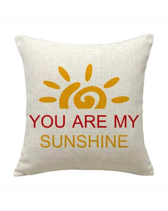 """Modern House """"YOU ARE MY SUNSHINE"""" Pillow Cover"""