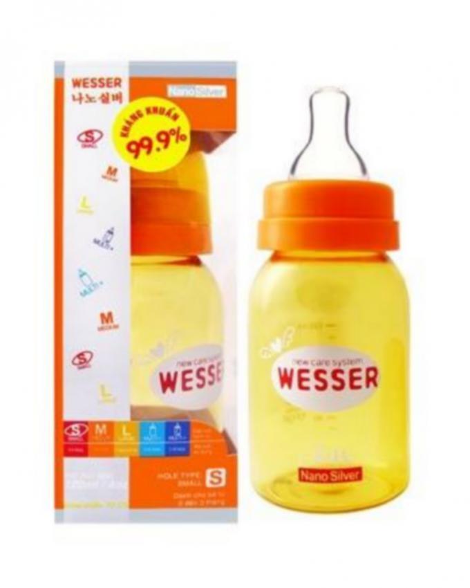 Wesser Nano Silver Feeding Bottle 120ml