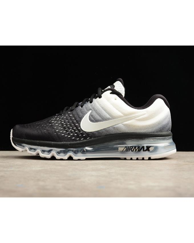3f7307e23338 Nike Air Max 2017 Series Sneakers - Black and white