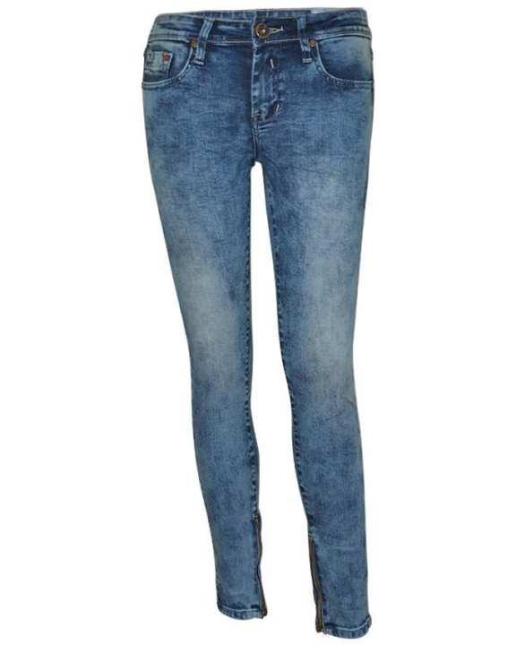 NOBODY Lady Long Pants - Super Skinny - Blue