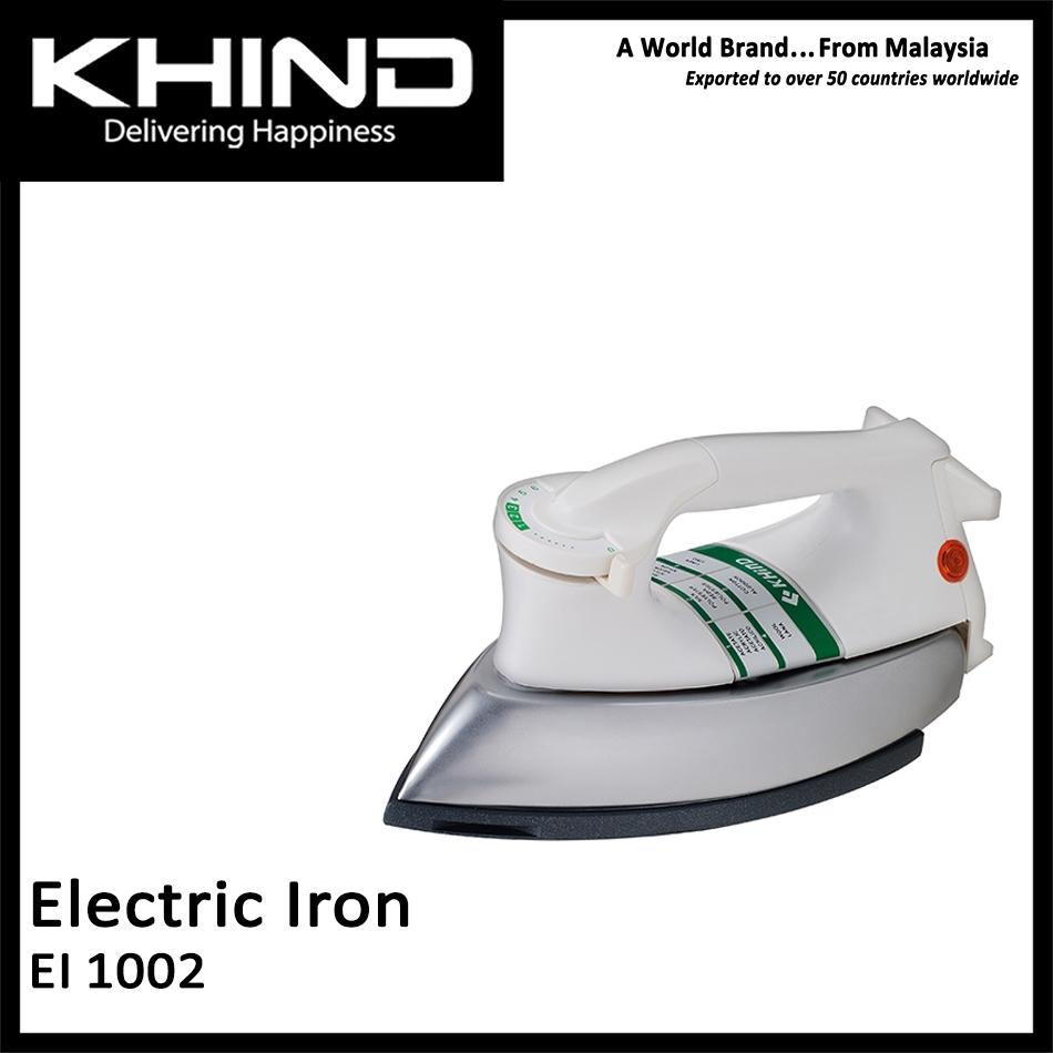 KHIND EI 1002 - Khind Electric Dry Heavy Iron 6Lb