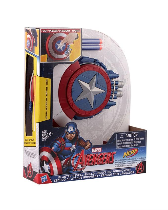 Marvel Avengers Blaster Reveal Shield