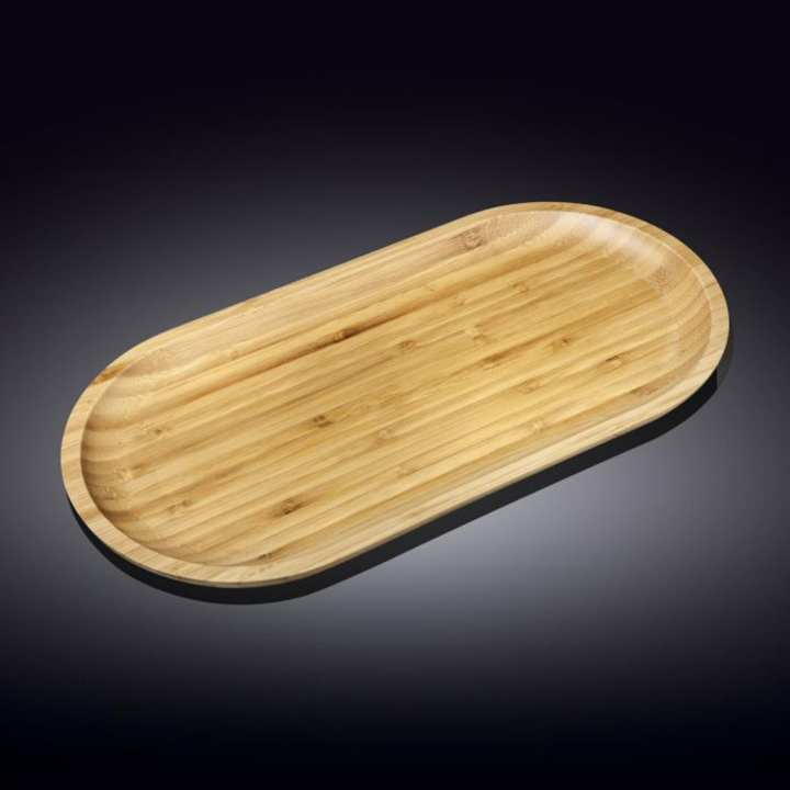 Wilmax Bamboo Platter 14 x 7 inches