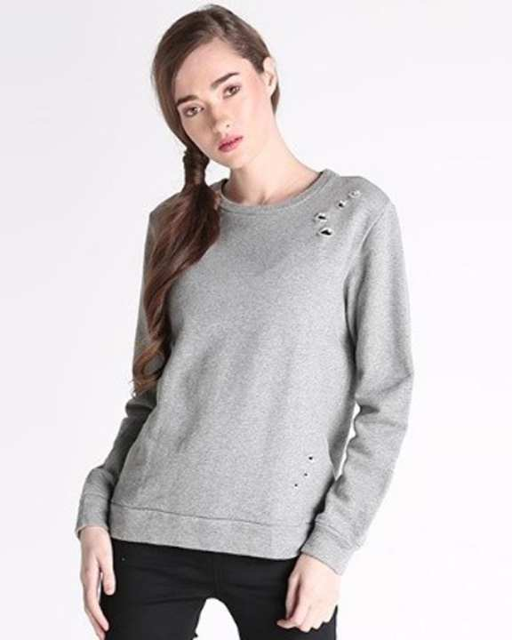 Penshoppe Women's Long Sleeve Jacket - Gray