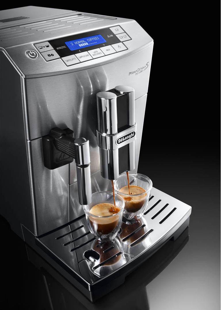 DeLonghi PrimaDonna S De Luxe ECAM 26.455 Coffee Machine