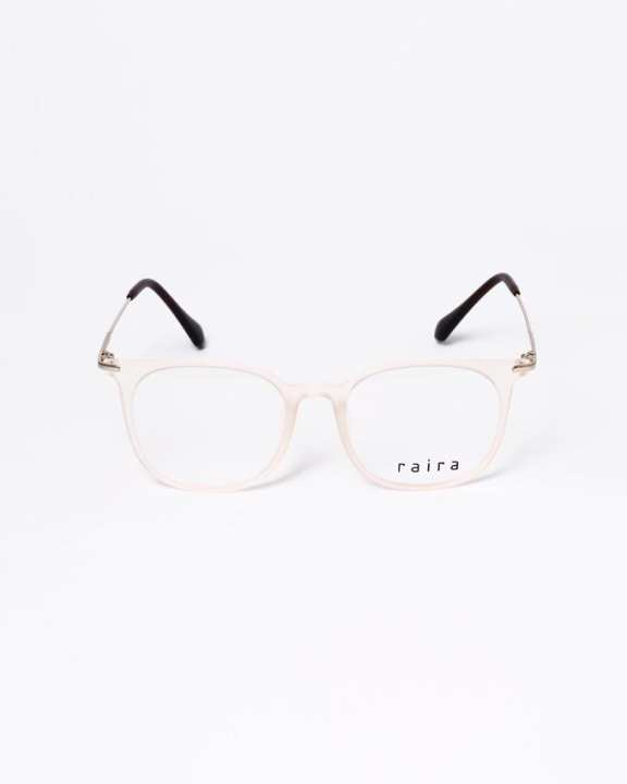 RAIRA Friz quadrata eyeglasses for lady- White