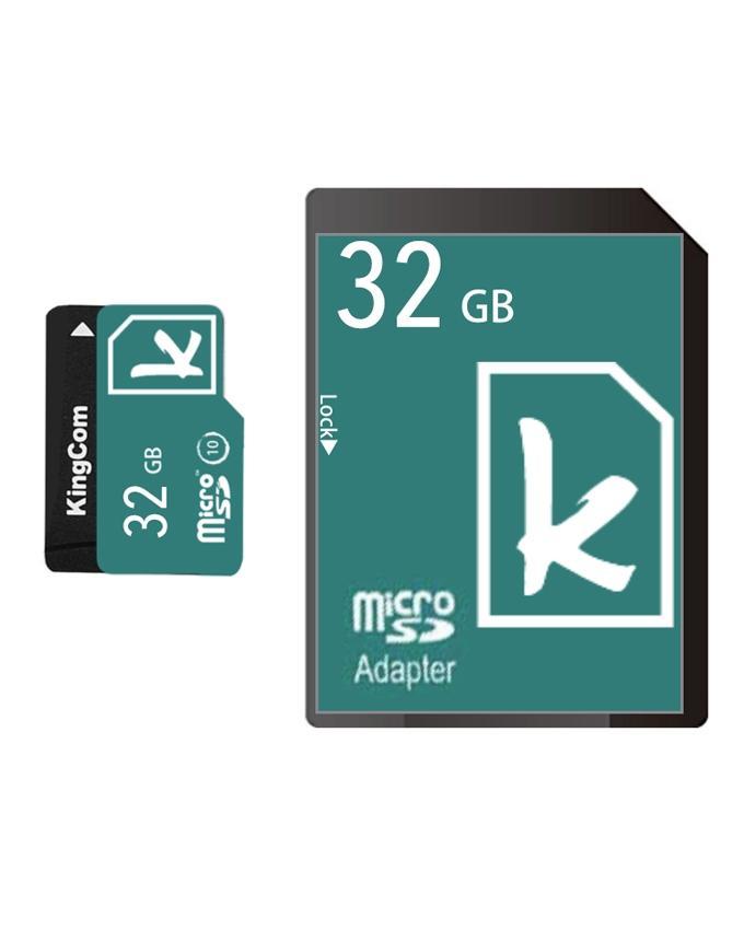 KingCom Micro SD Class 10 with Adapter 32GB