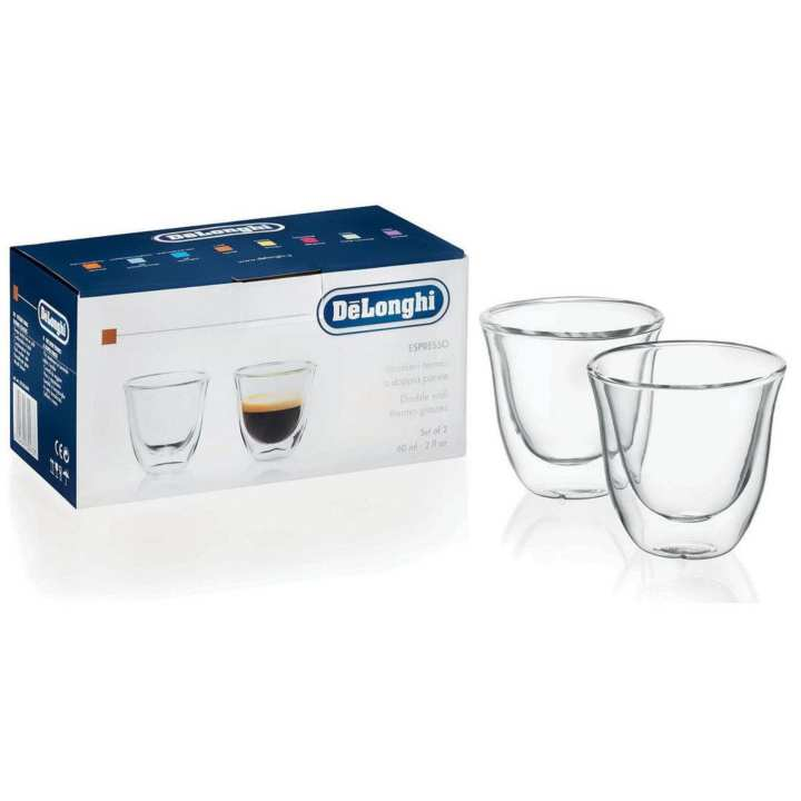DeLonghi Double Wall Glass (190ML)