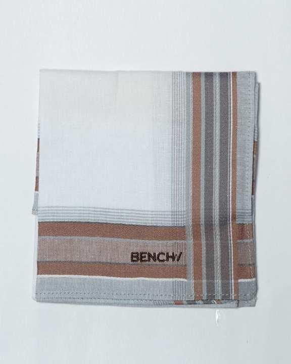 Bench Hanky - White