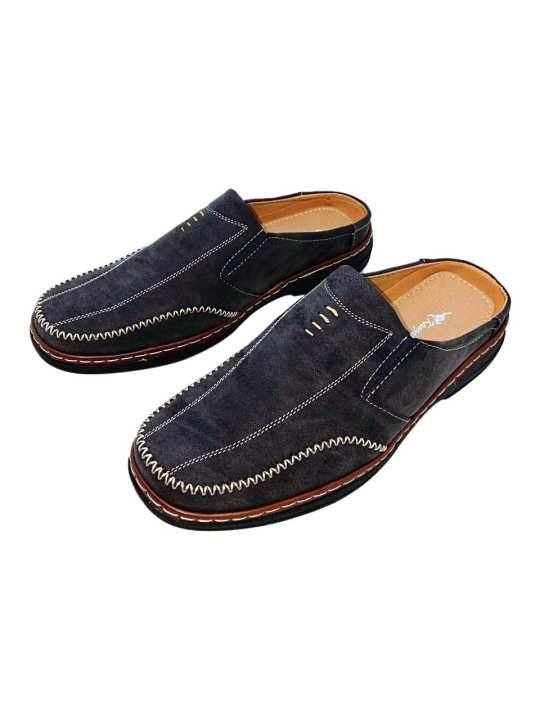 Kangaroo Men's Leather Formal Slip On Shoe