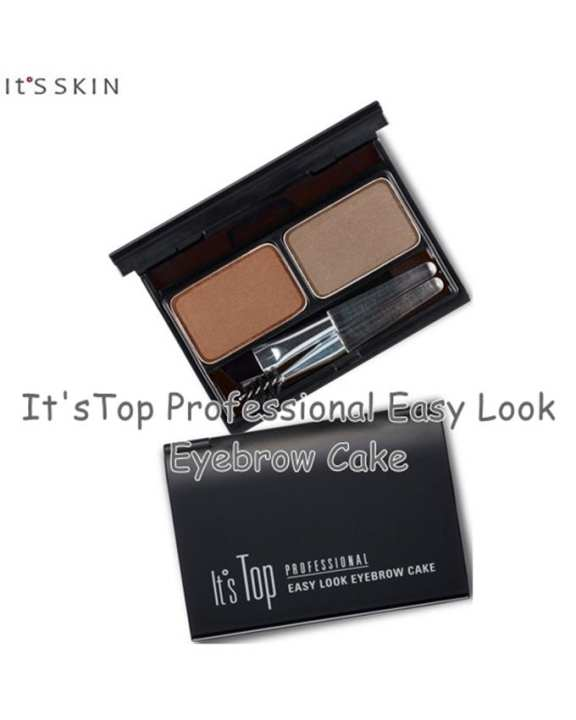 It's SKIN It'sTop Professional Easy Look Eyebrow Cake    2g+2g #01