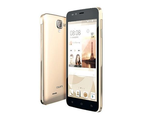 COLORS X117 MEGAQUAD (3G) Dual Sim - ေ႐ႊေရာင္