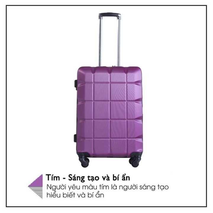 """Lusetti Lusetti Luggage Purple Color 24"""""""
