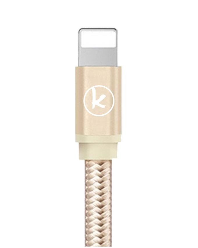 KingCom Cable for iphone 5 Kable T3_Gold