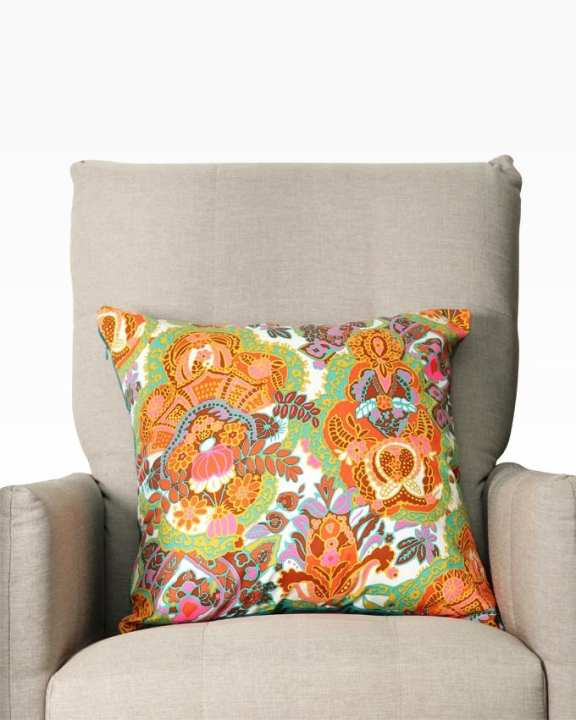 "The Cushion Factory Attractive Colours Cotton Cushion Cover (16""X16"")"