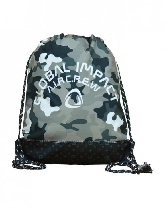Global Impact Camoflage-grey Bag