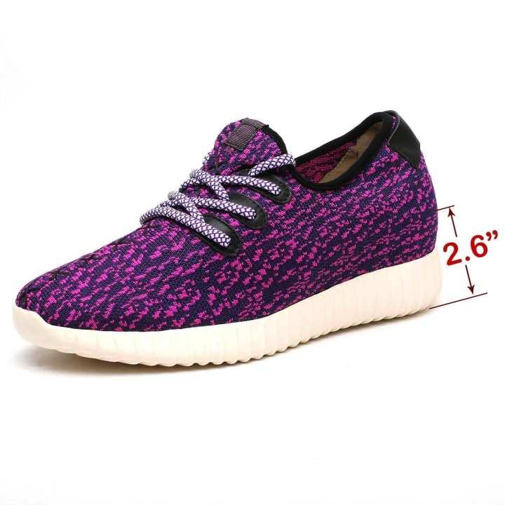 Mr.Confident  Stylish Sneaker Shoes - Purple