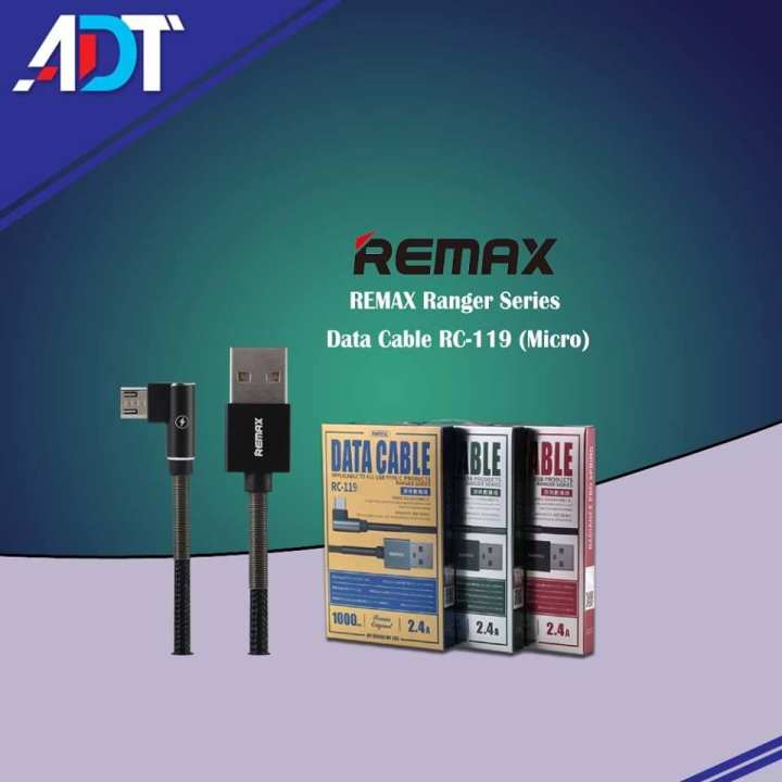 REMAX Ranger Series Data Cable RC-119 Micro (Charging Cable)