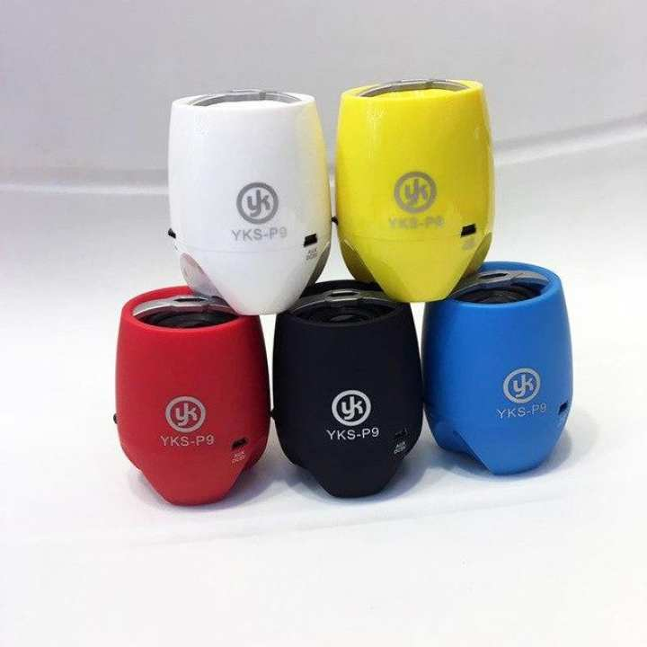YK YKS-P9 Mini Bluetooth 3.0 Speaker with Mic Support TF Card/AUX-in/FM