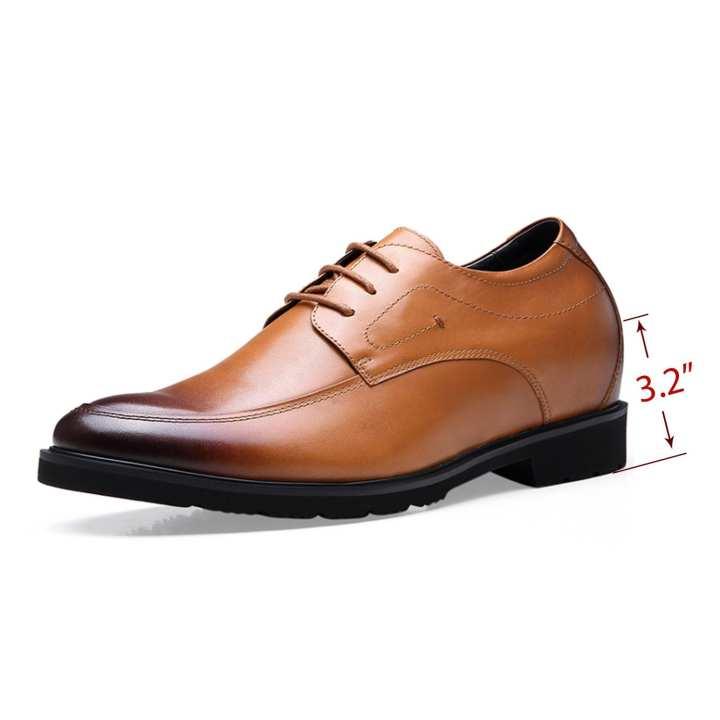 Mr.Confident  Men's Wear Genuine Italian Leather Smart Business Shoes
