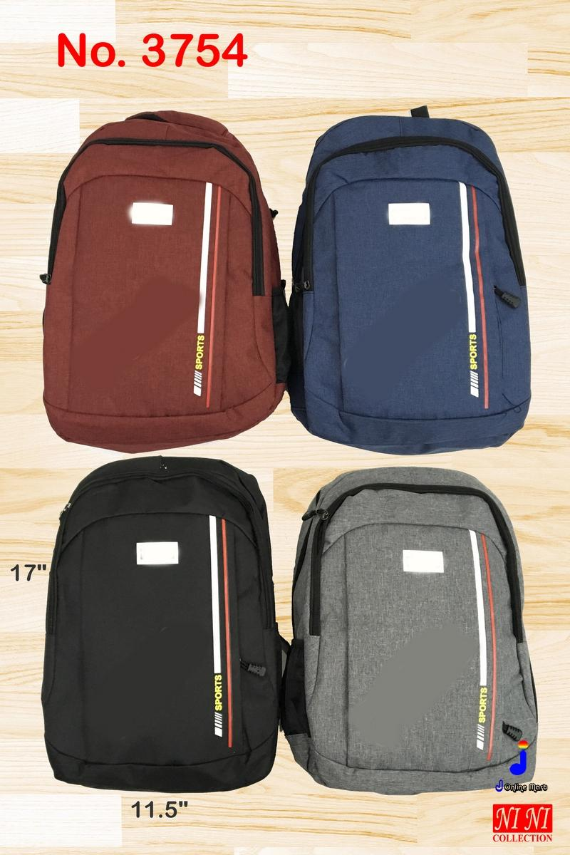 (3754) Brand Backpack Travel School Office Work Casual Laptop Bag (First  Copy) b2715fc7e7540