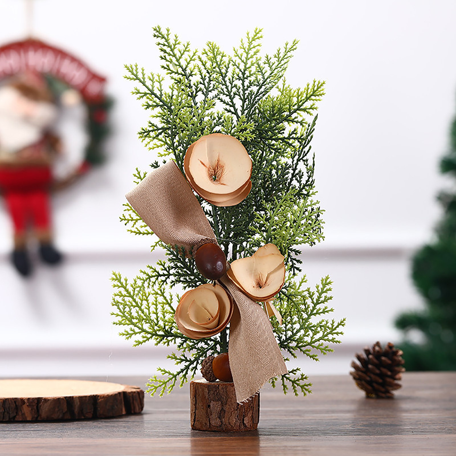 Window Mini Christmas Tree Gifts Christmas Desktop Small Christmas Tree Ornament Buy Online At Best Prices In Myanmar Shop Com Mm