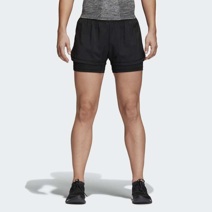 Adidas 2IN1 SHORT W WOMEN (Adidas Official Store Myanmar)