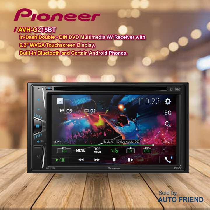 Pioneer AVH-A105DVD  Car Head Unit