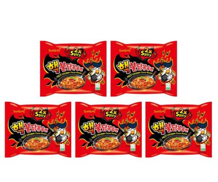 Samyang 2x Spicy Hot Chicken Flavour Ramen 140g