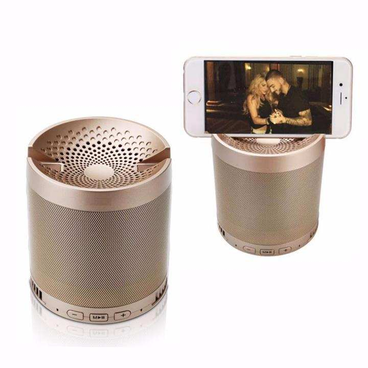 Wireless Bluetooth Speaker with Phone Stand